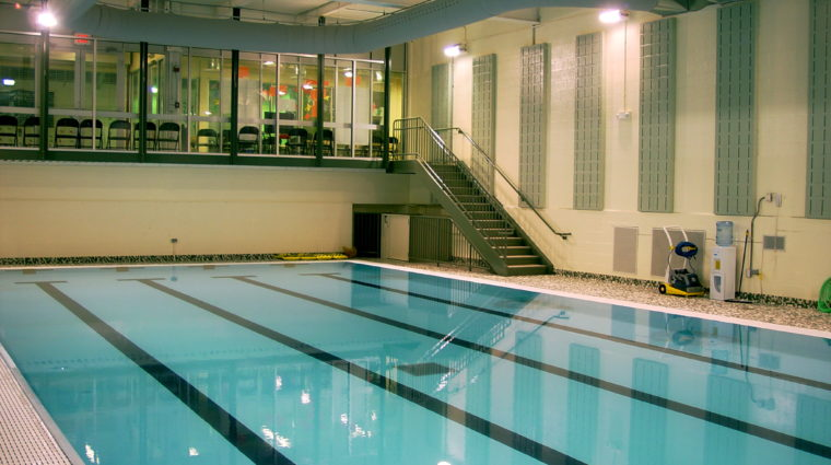 Picture of downstairs pool