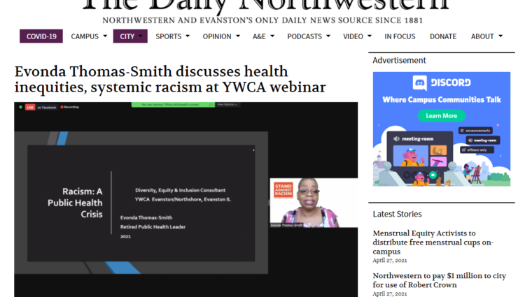 Link to NW article on YWCA webinar