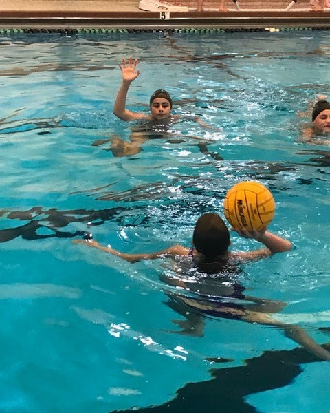 Water polo at YWCA