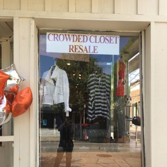 YWCA Crowded Closet entrance