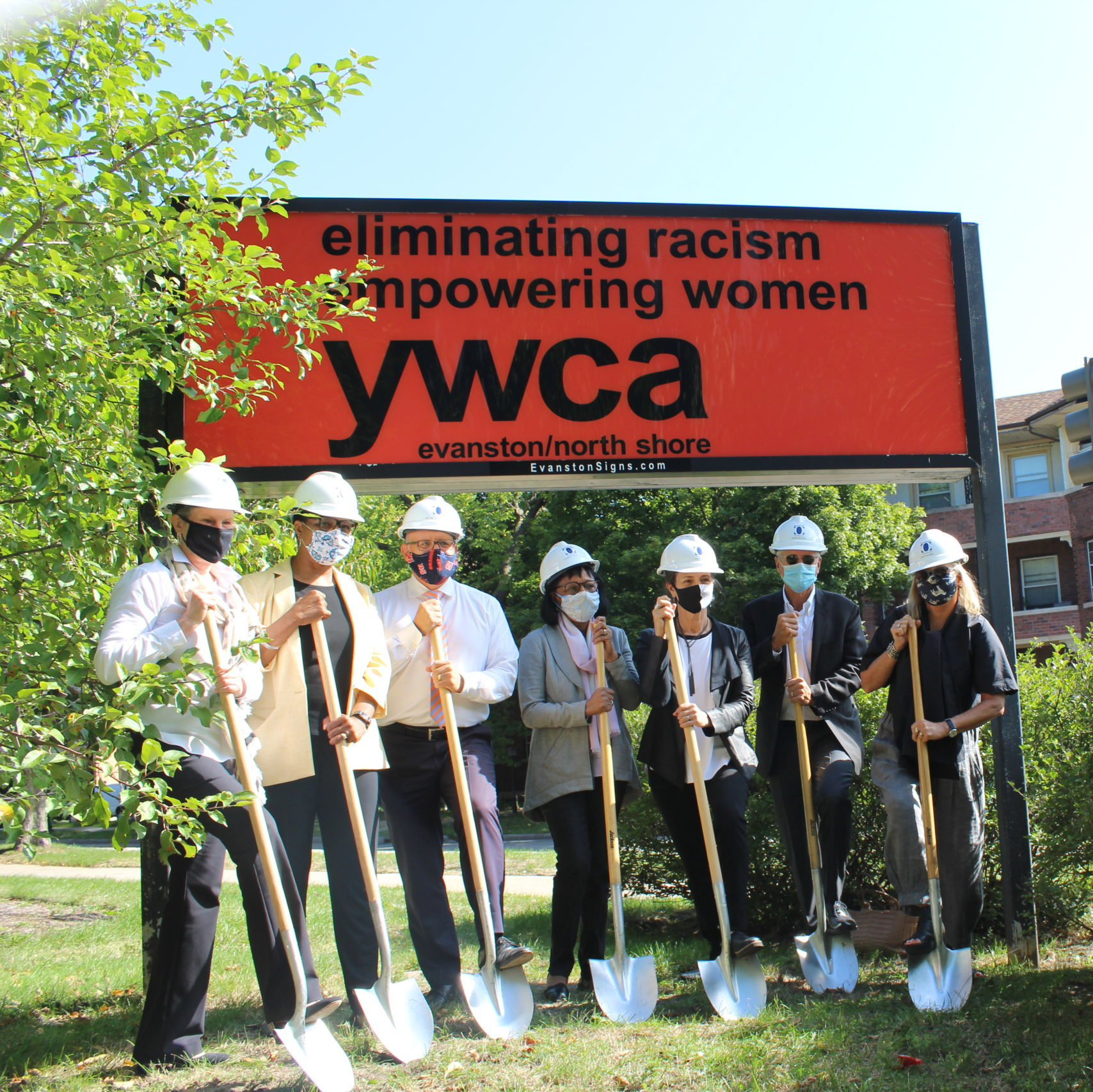 Groundbreaking for YWCA's new campus