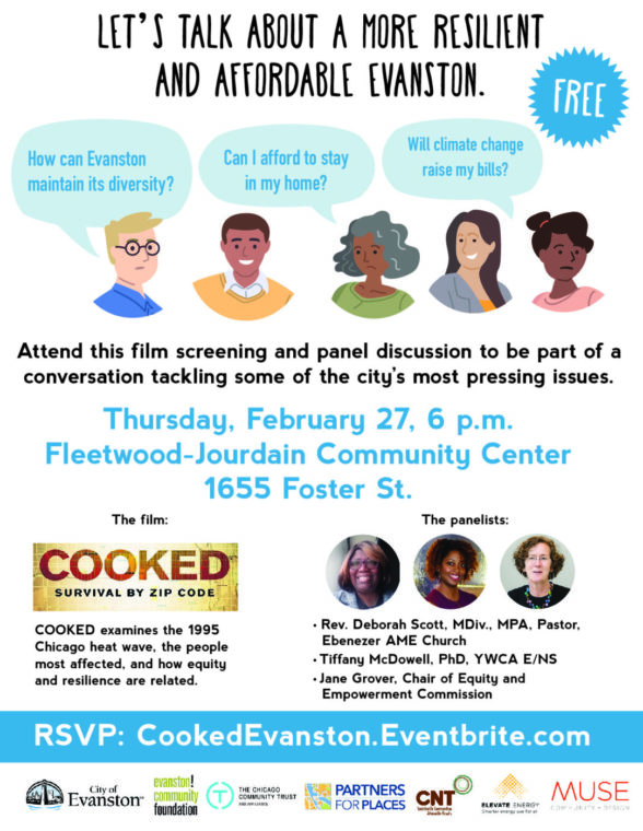 COOKED Film Screening & Panel Discussion @ Fleetwood-Jourdain Center