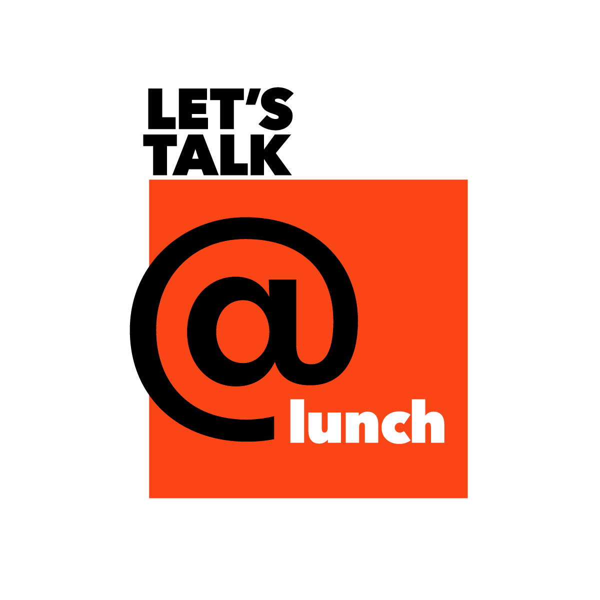Let's Talk at Lunch logo