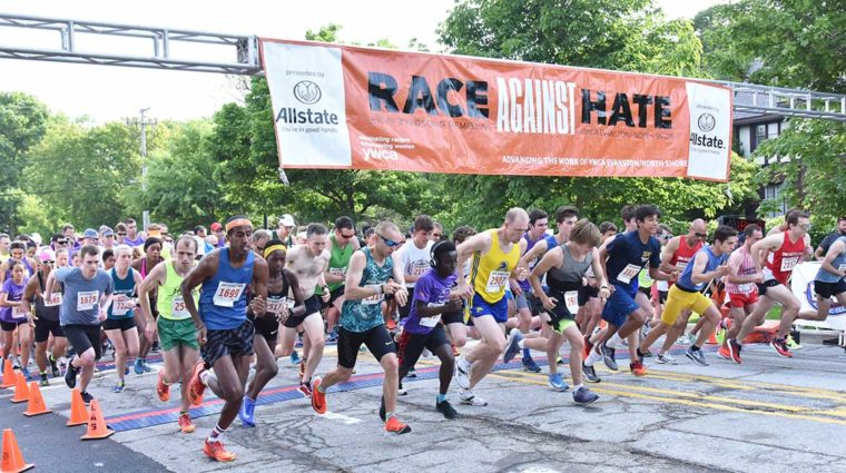 Start of Race Against Hate