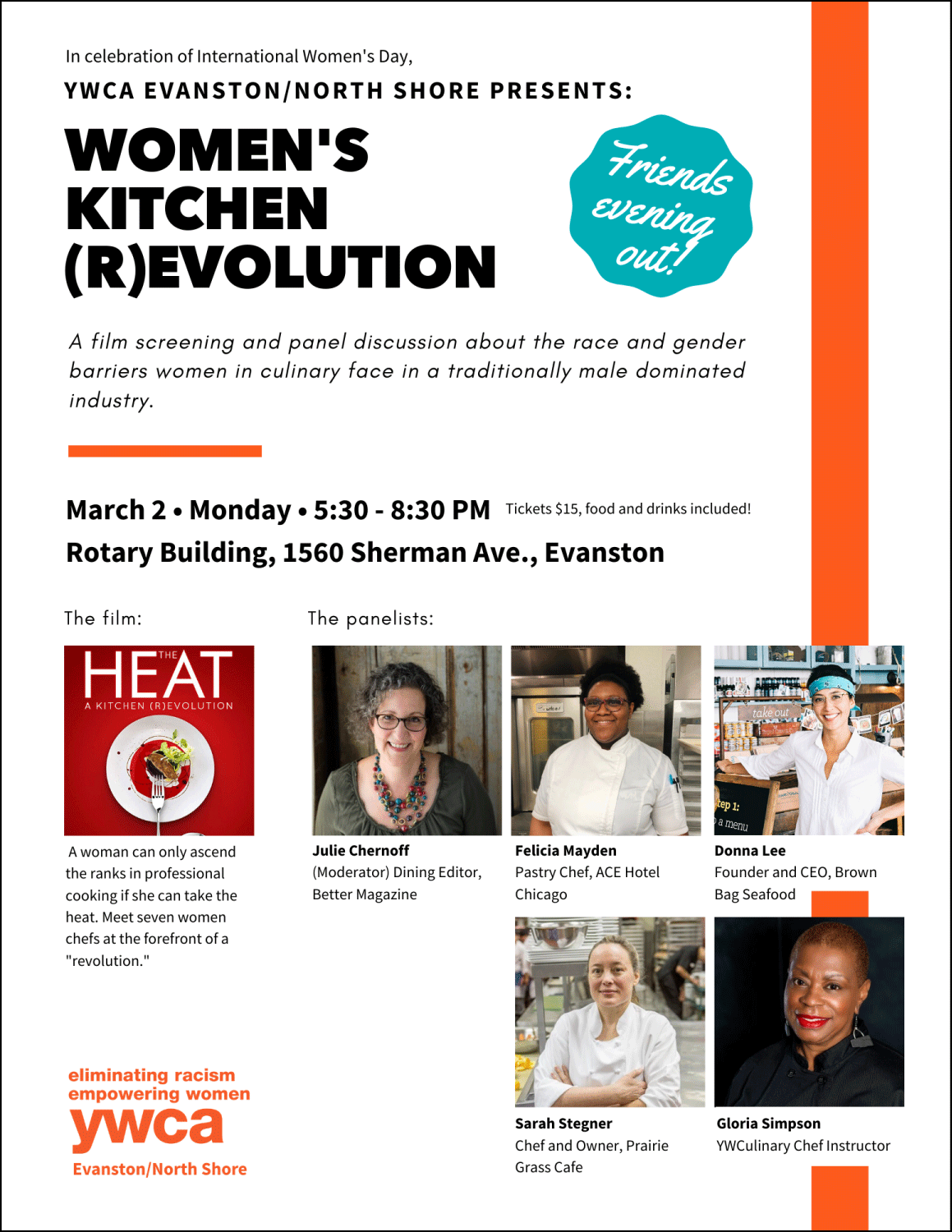 Women's Kitchen (R)evolution @ Rotary Building auditorium