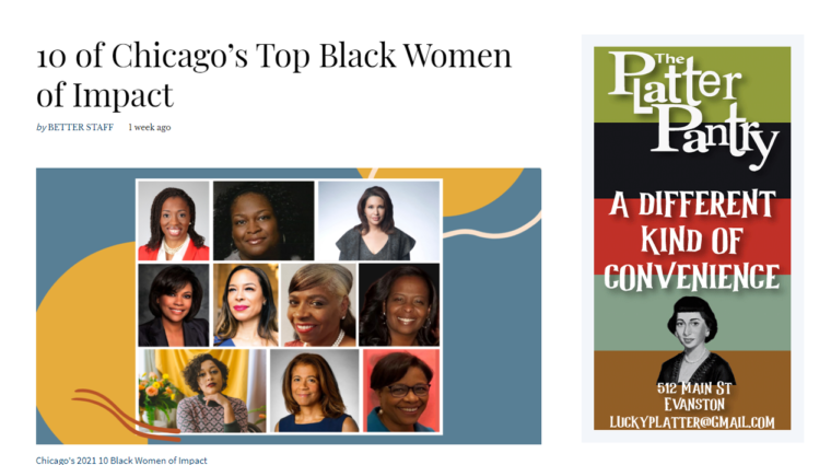 Top Black Women of Impact graphic