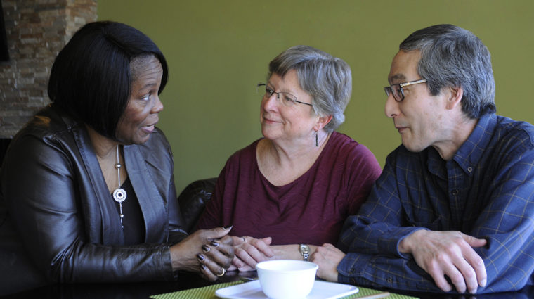 Let's Talk at Lunch offers informal racial equity discussion