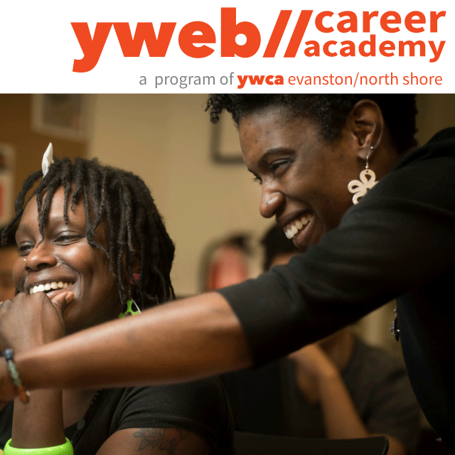 YWeb Career Academy photo and logo